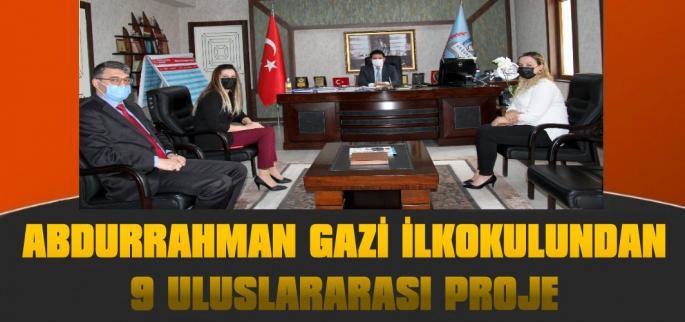 Abdurrahman Gazi İlkokulundan 9 Uluslararası Proje