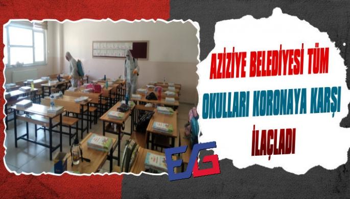 Aziziye'de Yüz Yüze Eğitim Hazırlığı