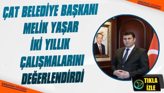 Başkan Melik Yaşar 2 Yılık Çalışmalarını Değerlendirdi