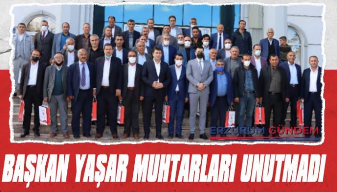 Başkan Yaşar, Muhtarları Unutmadı!