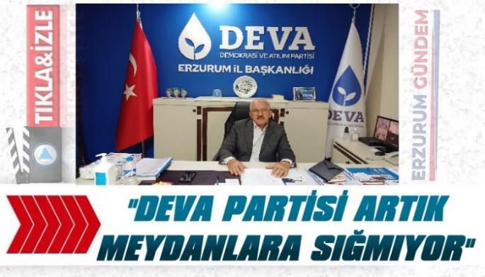 Bingöl: 'DEVA Partisi Artık Meydanlara Sığmıyor'