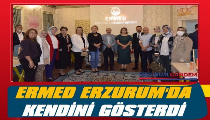 ERMED Erzurum'da Kendini Gösterdi