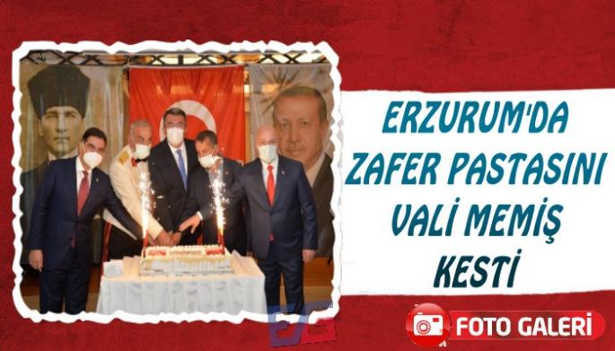Erzurum'da 30 Ağustos Resepsiyonu