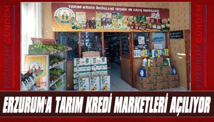 Erzurum'da 5 Adet Tarım Kredi Marketi Açılıyor