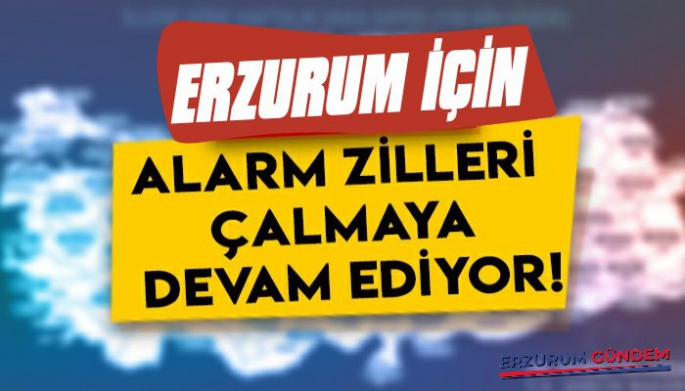 Erzurum İçin Alarm Zilleri Çalmaya Devam Ediyor