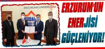 Erzurum'un Enerjisi Güçleniyor
