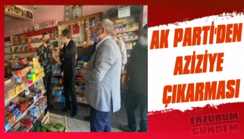 AK Parti'den Aziziye Çıkarması