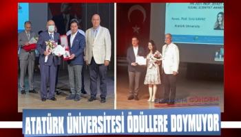 Atatürk Üniversitesi İki Dalda Ödül Aldı