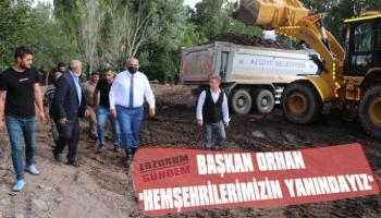 Başkan Orhan: 'Hemşerilerimizin Yanındayız'
