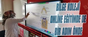 Bilge Koleji Online Eğitimde de Bir Adım Önde