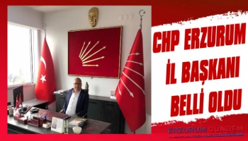 Erzurum CHP İl Başkanı Suat Dülger Oldu