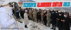 Erzurum'da 'Allahuekber Şehitleri' Anıldı
