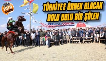 Erzurum'da Bir Spor ve Kültür Şöleni