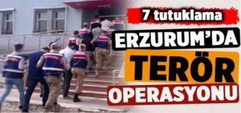 Erzurum'da PKK/KCK Operasyonu