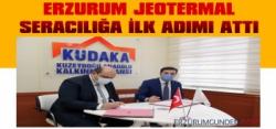Erzurum Jeotermal Seracılığa İlk Adımı Attı