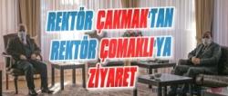 ETÜ Rektörü Çakmak'tan Rektör Çomaklı'ya Ziyaret