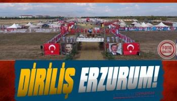 Geleneksel Türk Oyunları Erzurum'dan Yükseliyor