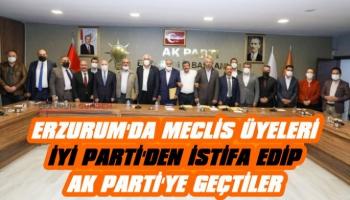 İYİ Parti'den İstifa Edip AK Parti'ye Geçtiler