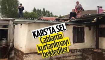 Kars'ın Köylerinde Sel Felaketi
