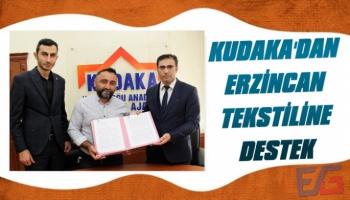 KUDAKA'dan Erzincan Tekstiline Destek