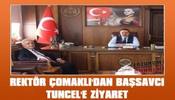 Rektör Çomaklı'dan Başsavcı Tuncel'e Ziyaret