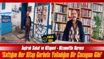 Sahaf Nizamettin Korucu: 'Sattığım Her Kitap Gurbete Yolladığım Bir Çocuğum Gibi'
