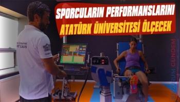 Sporcuların Performanslarını Atatürk Üniversitesi Ölçecek