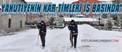 Yakutiye'nin Kar Timleri İş Başında!