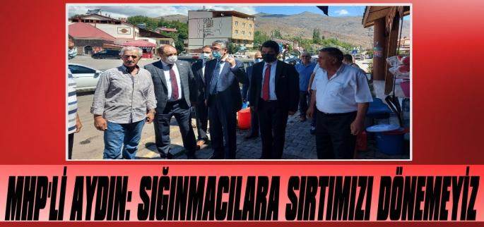 Kamil Aydın: 'Sığınmacılara Sırtımızı Dönemeyiz'